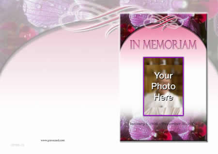 ADORATION outside personalised card