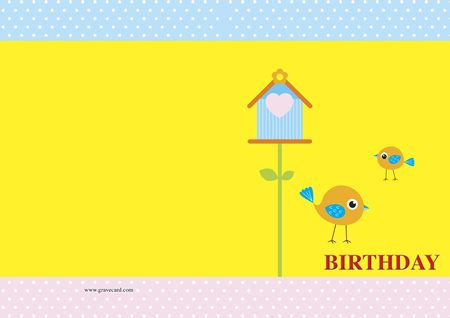Baby BIRTHDAY OUTSIDE standard card