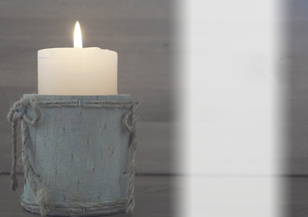 CANDLE inside standard card