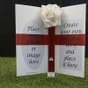 Graveside flowers, graveside ornaments, graveside decoration, Grave headstones, Undertakers , funeral directors , funeral arrangers. Irish Flag Card