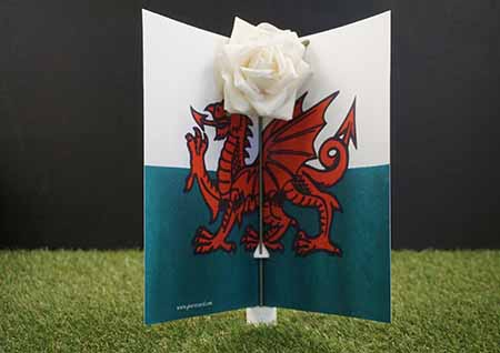 Graveside flowers, graveside ornaments, graveside decoration, Grave headstones, Undertakers , funeral directors , funeral arrangers. England Flag