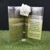 Graveside flowers, graveside ornaments, graveside decoration, Grave headstones, Undertakers , funeral directors , funeral arrangers. Flowers for a graveside
